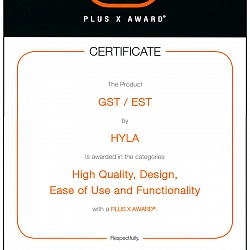 Certificate The Product GST / EST by HYLA